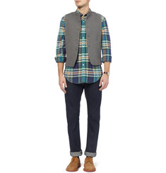 J.Crew Check Cotton-Flannel Shirt
