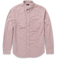 J.Crew Gingham Check Cotton Shirt