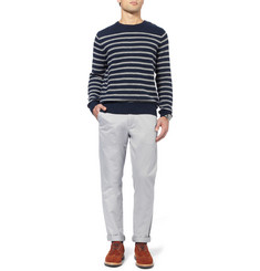 J.Crew Broken In Slim-Fit Cotton-Twill Chinos