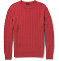 J.Crew - Cable-Knit Cashmere Sweater