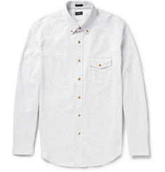 J.Crew Brushed-Cotton Button-Down Collar Shirt