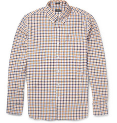 J.Crew Dalton Slim-Fit Check Washed-Cotton Shirt