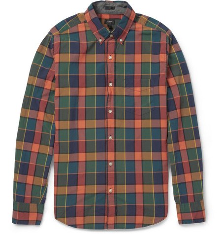 J.Crew Check Cotton Shirt