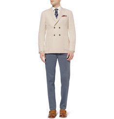 Canali Kei Slim-Fit Linen And Silk-Blend Blazer