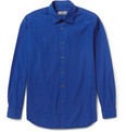 Canali - Washed Cotton-Poplin Shirt