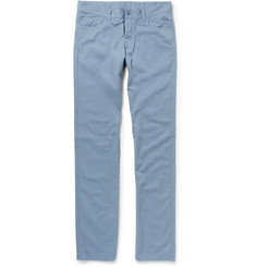 Canali Regular-Fit Cotton-Blend Lightweight Jeans