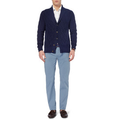 Canali Regular-Fit Stretch Cotton-Blend Lightweight Jeans