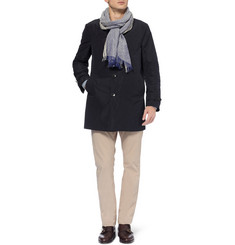 Canali Rain & Wind Tech Trench Coat