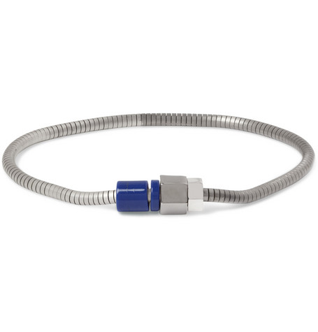 Lanvin Metal and Bead Bracelet