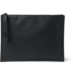 Lanvin Full-Grain Leather Pouch