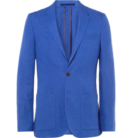 PS by Paul Smith Slim-Fit Linen Suit Jacket