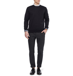 PS by Paul Smith Contrast-Trim Cotton Sweater