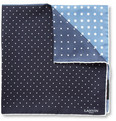 Lanvin - Polka Dot-Print Silk Pocket Square
