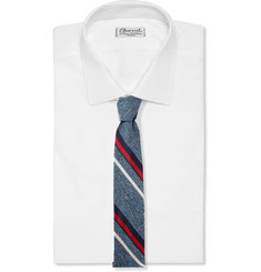 J.Crew Fisher Striped Silk Tie