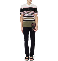 Givenchy Panelled Short-Sleeved Polo Shirt