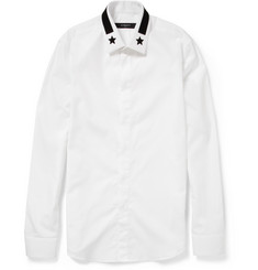 Givenchy Embroidered Cotton Shirt
