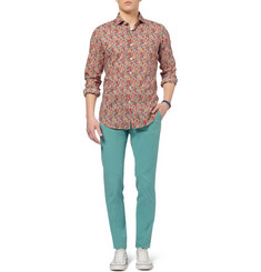 Incotex Slim-Fit Cotton-Blend Chinos