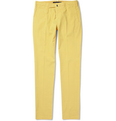 Slowear Incotex Slim-Fit Cotton-Blend Trousers