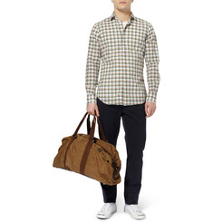 Slowear Slim-Fit Plaid Cotton-Poplin Shirt