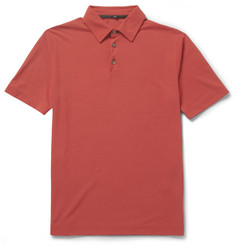 Slowear Zanone Cotton-Jersey Polo Shirt
