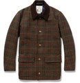 Private White V.C. Lightly-Quilted Harris Tweed Jacket