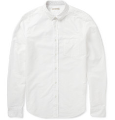 Burberry Brit Slim-Fit Stripe-Trimmed Cotton Oxford Shirt