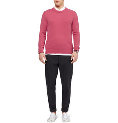 Burberry Brit Elbow Patch Cashmere Sweater