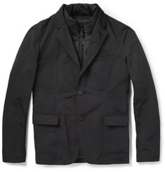 Burberry Brit Blazer with Detachable Down-Filled Gilet