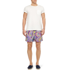 Etro Paisley Mid-Length Swim Shorts
