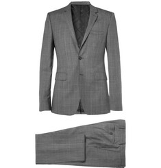 Burberry London Prince of Wales Check Slim-Fit Wool and Cashmere-Blend Suit
