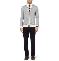 Burberry London Knitted Silk Cardigan
