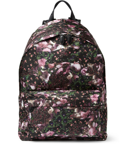 Givenchy Floral-Print Backpack