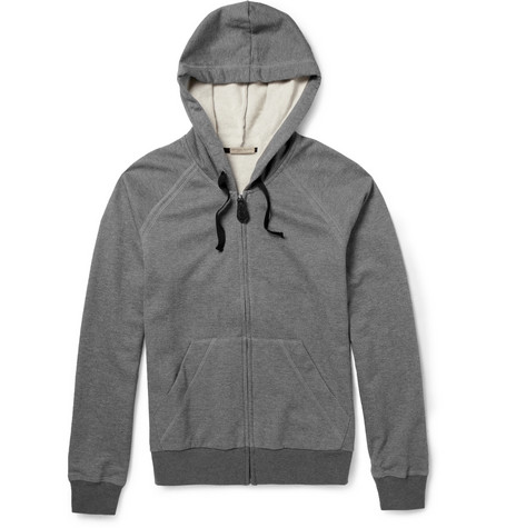 Bottega Veneta Fleece-Backed Jersey Hoodie