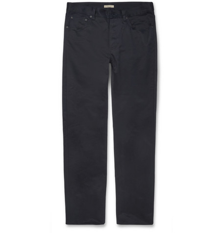Bottega Veneta Slim-Fit Cotton-Gabardine Jeans