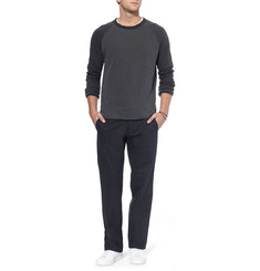 Bottega Veneta Regular-Fit Cotton-Poplin Trousers