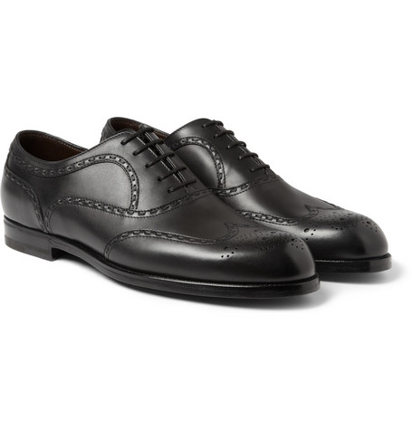 Bottega Veneta Leather Oxford Brogues