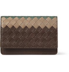 Bottega Veneta Textured-Leather Cardholder