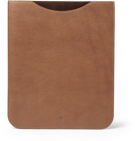 Mulberry Leather iPad Sleeve