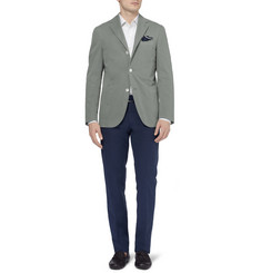 Boglioli Slim-Fit Unstructured Cotton-Blend Twill Blazer