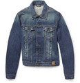 Dolce & Gabbana Slim-Fit Washed Denim Jacket