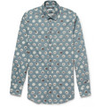 Dolce & Gabbana - Gold-Fit Printed Cotton Shirt
