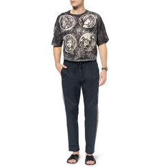 Dolce & Gabbana Regular-Fit Cotton Trousers