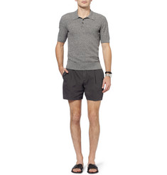 Dolce & Gabbana Regular-Fit Brushed-Cotton Shorts