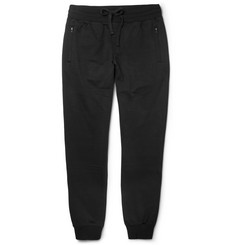 Dolce & Gabbana Loopback Cotton-Blend Jersey Sweatpants