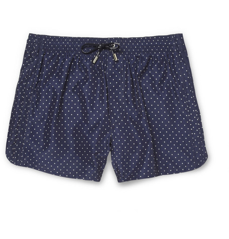 Dolce & Gabbana Short-Length Spot-Print Swim Shorts