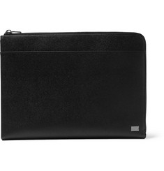 Dolce & Gabbana Cross-Grain Leather Document Holder