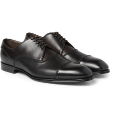 Dolce & Gabbana Two-Tone Leather Oxford Shoes