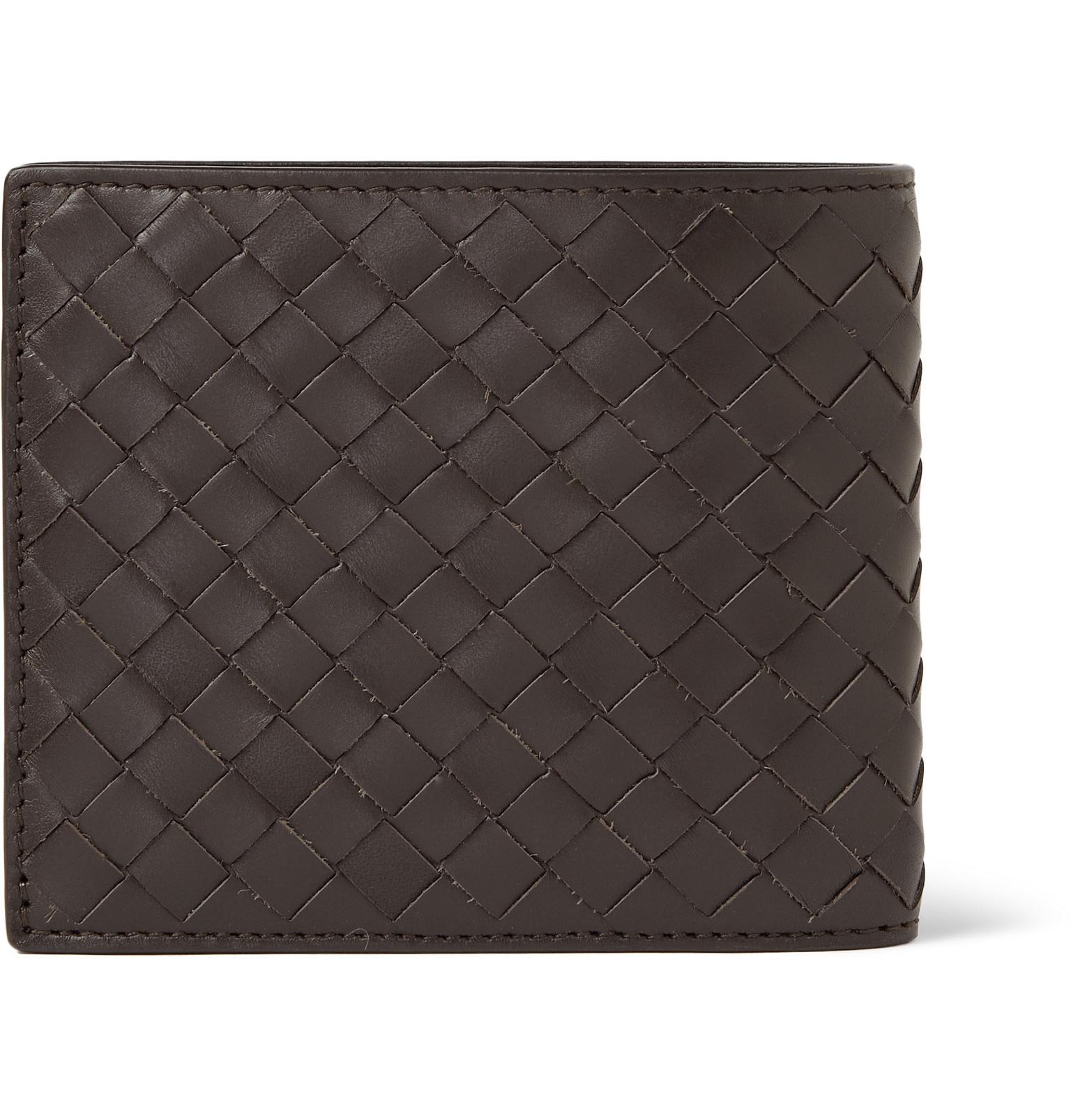 Bottega Veneta - Intrecciato Leather Billfold Wallet c45e8f64f769b