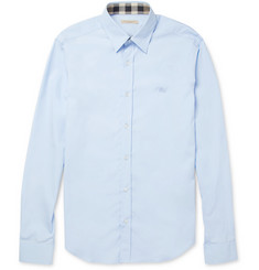 Burberry Brit Slim-Fit Cotton-Blend Shirt