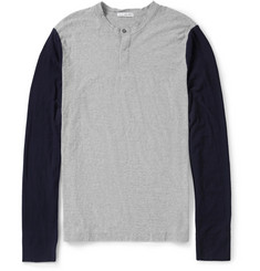 James Perse Slub-Cotton Henley T-Shirt